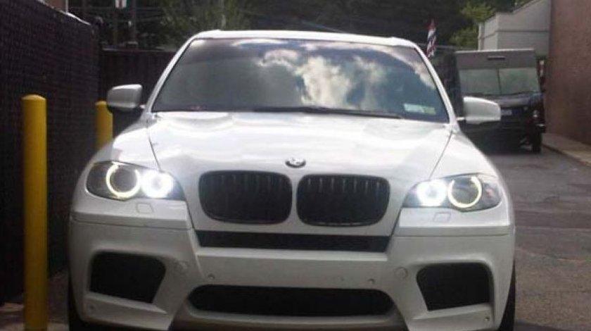ANGEL EYES LED MARKER BMW X5 E70 NEW 6S H8 80W 3200 LUMENI