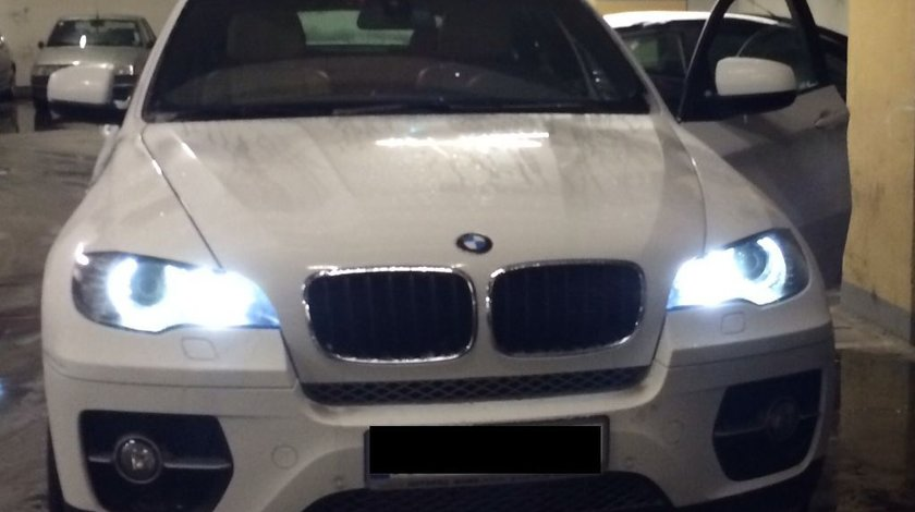 ANGEL EYES LED MARKER BMW X6 NEW 6S H8 80W 3200 LUMENI