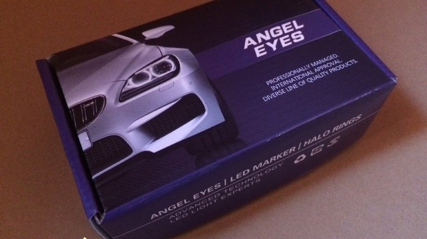 Angel eyes seria 5 Led Marker 10w 800 Lumeni Bmw ⭐️⭐️⭐️⭐️⭐️
