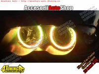 Angel Eyes SMD BMW E46 GALBEN OEM 260 RON IN STOC