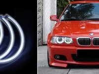 Angel Eyes SMD BMW E46 *** HIGH POWER 144+120 SMD