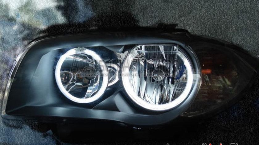 Angel Eyes SMD BMW Seria 1 E87 04-11 - Faruri fara lupa