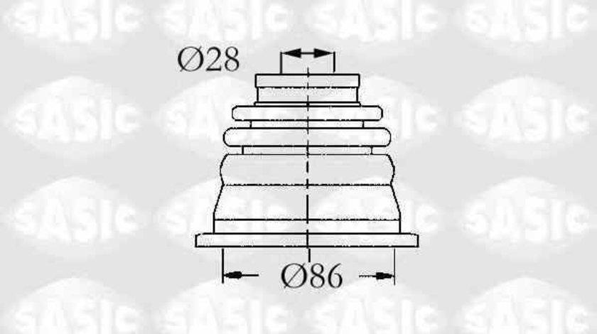 Ansamblu burduf articulatie planetara RENAULT ESPACE IV JK0/1 SASIC 4003464
