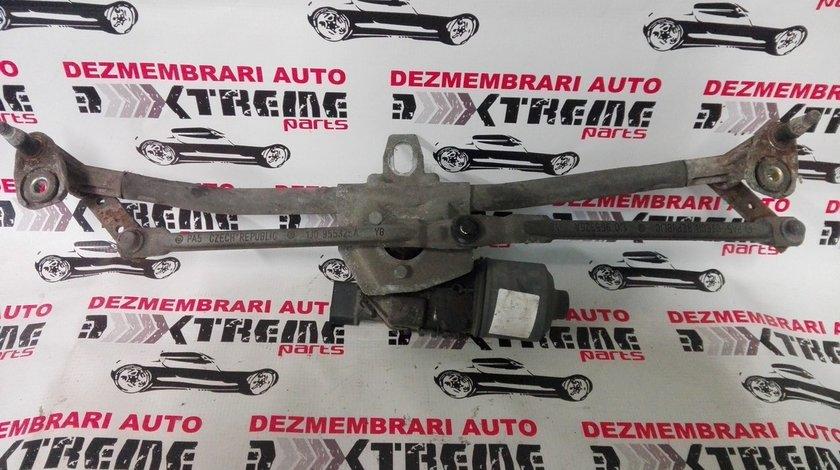 ansamblu cu motoras pentru stergator parbriz 1J0955325A pentru Volkswagen Golf 4