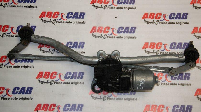 Ansamblu stergatoare cu motoras BMW Seria 3 E46 Facelift cod 3397020922 / 61617051669 / 67636914577 model 2004