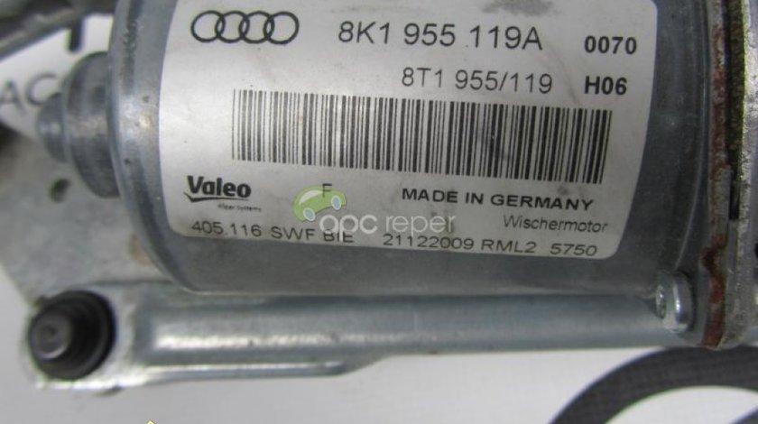 Ansamblu stergatoare original Audi A4 S4 8K cod 8K1955119A