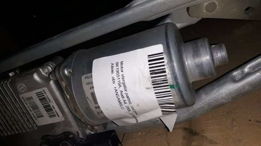 Ansamblu stergatoare parbriz (volan pe stanga) 8K1955119A Audi A4 8K2, B8 2007-2017