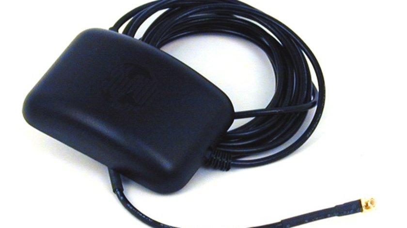 Antena Auto GPS Garmin 010-10052-05 Ga 27C , Remote cu conector MCX , profil mic Kft Auto