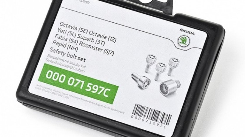 Antifurt Roti Oe Skoda Octavia 3 2012→ 000071597C