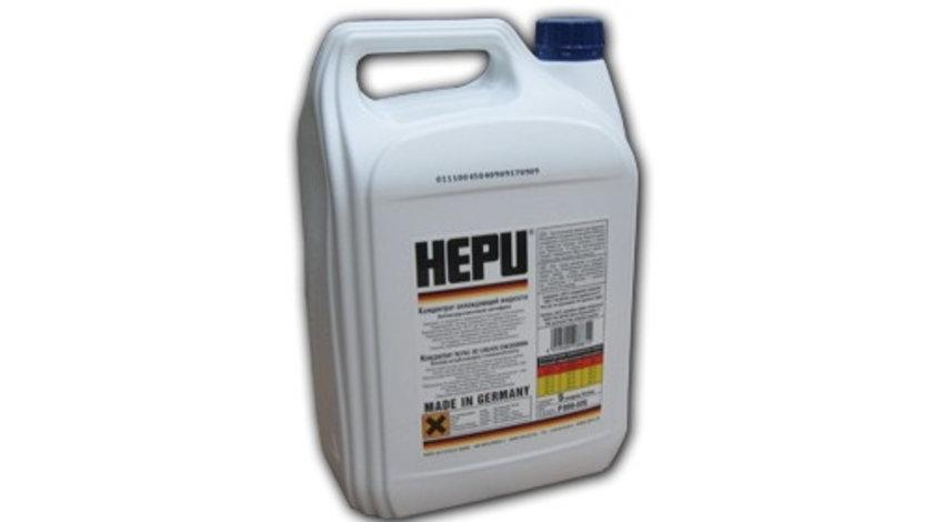 Antigel concentrat Hepu Universal, Albastru, G11, 5L