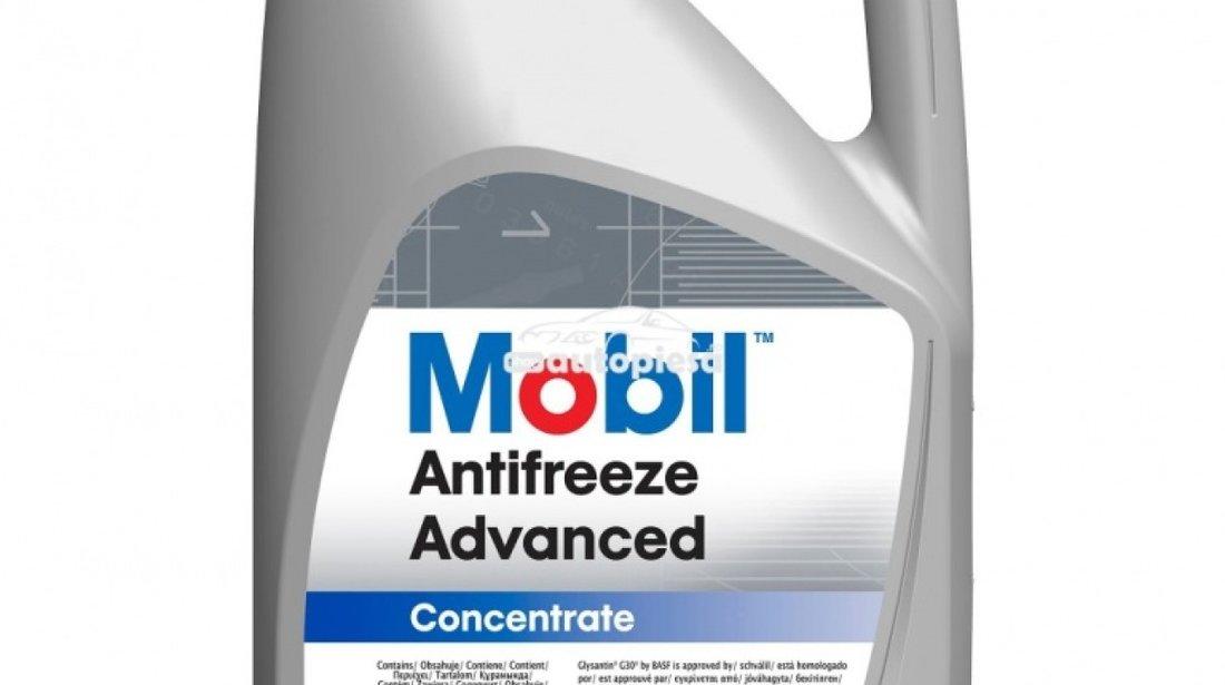 Antigel concentrat MOBIL Antifreeze Advanced G12 / G12+ Rosu / Roz 5 L MOB ANTIF.AD 5L produs NOU