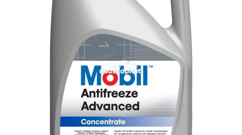Antigel concentrat MOBIL Antifreeze Advanced G12 / G12+ Rosu / Roz 5 L MOB ANTIF.AD 5L piesa NOUA
