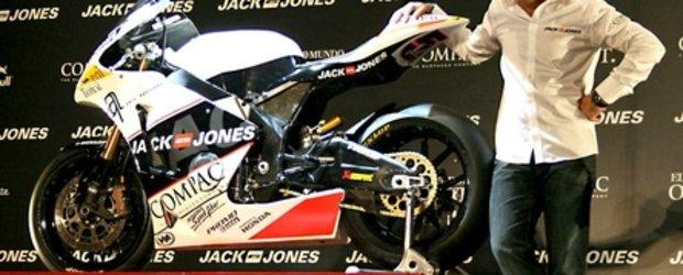 Antonio Banderas - manager de echipa in Moto GP