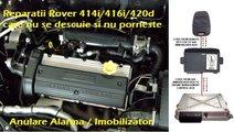 Anulare alarma imobilizator Land Range Rover 214i ...