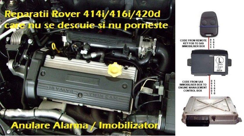 Anulare alarma imobilizator Land Range Rover 214i 216i 414i 416i 420d