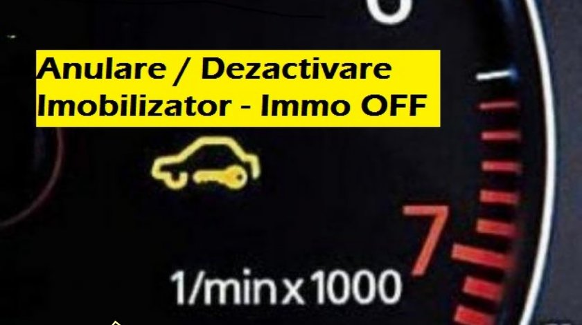 Anulare Imobilizator - Immo Off