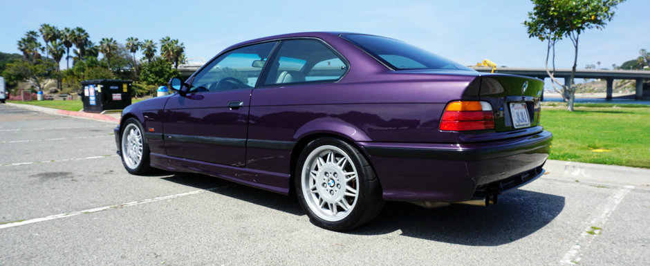 Anunt pentru pasionati si cunoscatori. Se vinde BMW M3 cu compresor Dinan si caroserie Daytona Violet