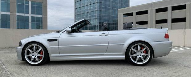 Anunt pentru pasionati si cunoscatori. Un BMW M3 cu compresor Dinan si transmisie manuala e de vanzare in SUA