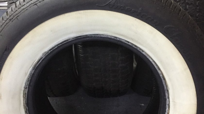 Anvelope clasice 235/75R15 American Classic White Wall 3 1/8 NOI