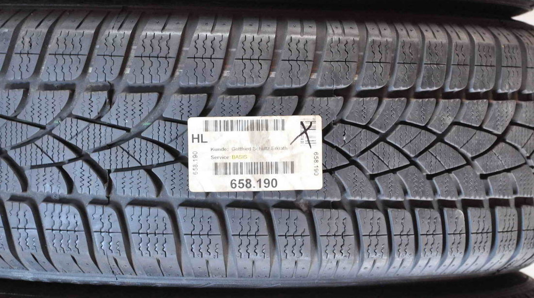 Anvelope Iarna 16 inch Dunlop 205/60 R16