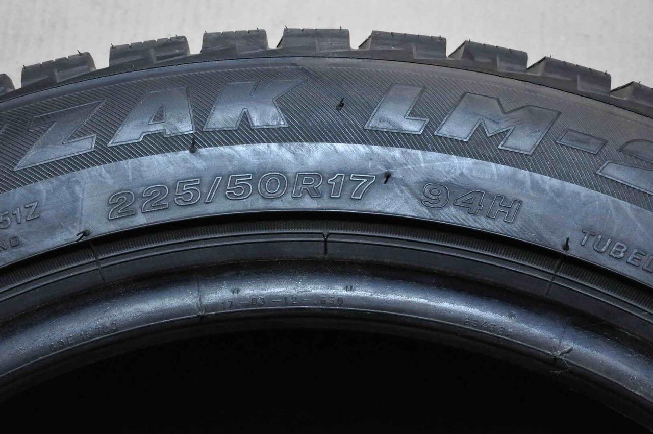 Anvelope Iarna 17 inch Bridgestone 225/50 R17 Run Flat