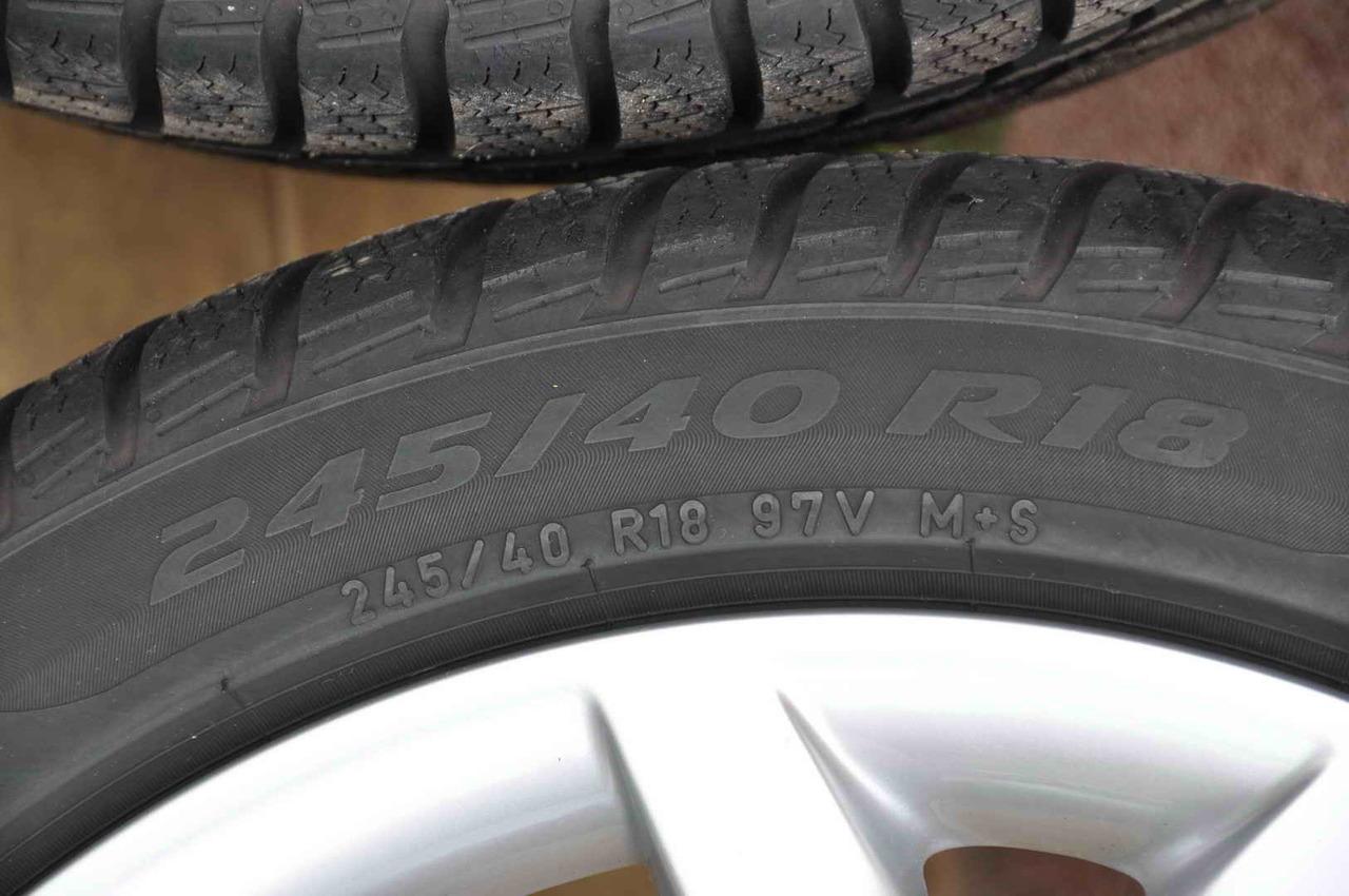 Anvelope Iarna 18 inch Pirelli 245/40 R18
