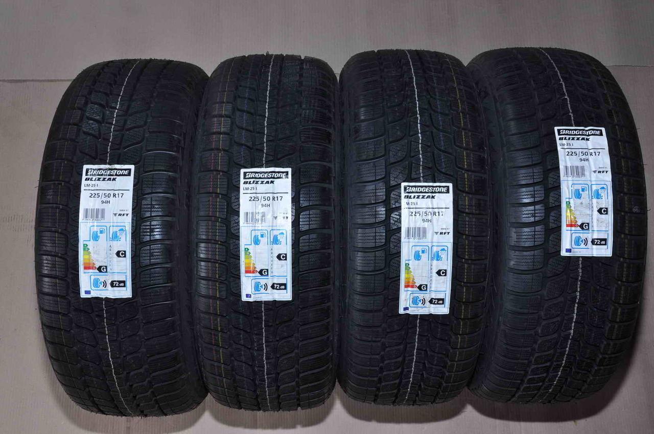 """Anvelope Iarna Noi 17"""" Bridgestone 225/50 R17 RunFlat"""