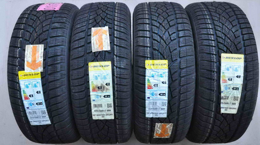 Anvelope Iarna Noi 17 inch Dunlop WinterSport 3D 225/50 R17 98H Extraload