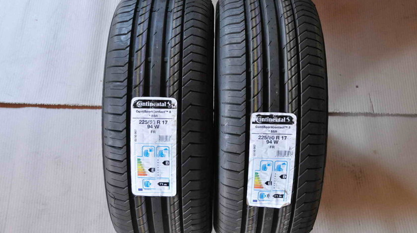 Anvelope Vara Noi 17 inch RunFlat Continental ContiSportContact 5 225/50 R17