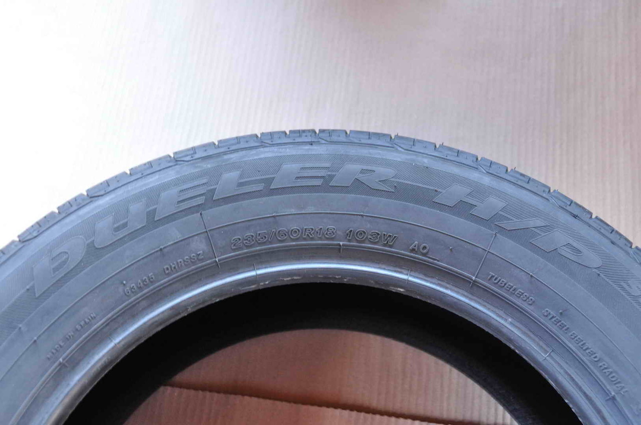 Anvelope Vara Noi 18 inch Bridgestone 235/60 R18 Audi Hyundai Mazda VW