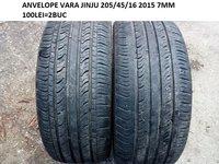 ANVELOPE VARAjinju 205/45/16 7MM  2015 STARE FOARTE BUNA