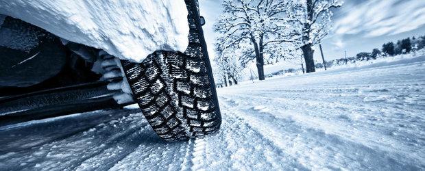 Anvelopele de iarna potrivite te scutesc de nervi si panica la franare