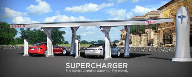 Apar primele statii solare pentru automobile electrice