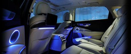 Apar tot mai multe imagini cu noua generatie Kia K900. Cum arata limuzina care vrea sa se bata cu Mercedes S-Class