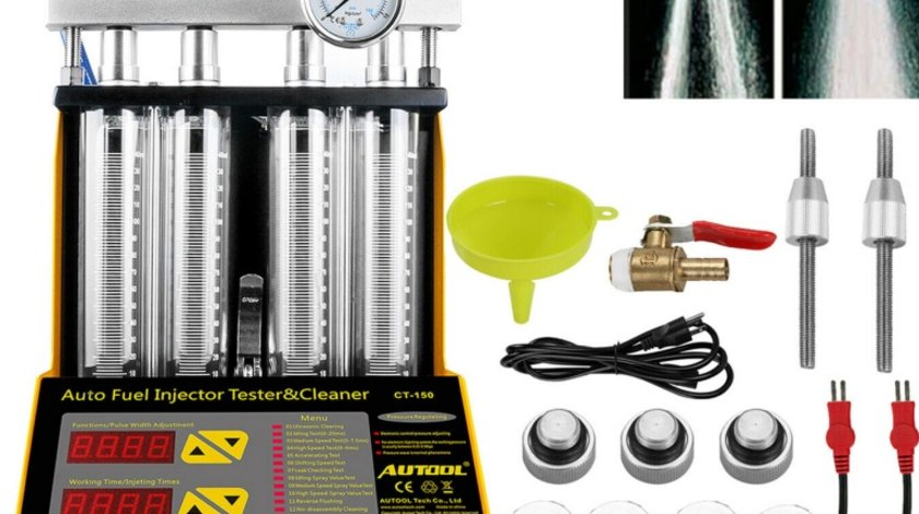 Aparat testare + curatare ultrasonic + reparare injectoare Common Rail benzina