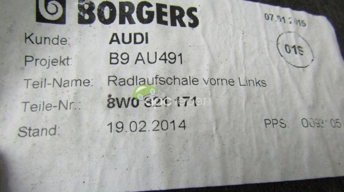 APARATOARE NOROI STG/DR SPATE Audi A4 8W 2.0 TDI QUATTRO din 2017-cod motor CNHA