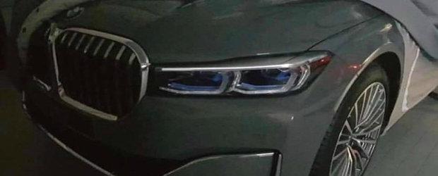 Aparitie surpriza la inceput de an: Noul BMW Seria 7 a ajuns pe internet mai devreme decat trebuia!
