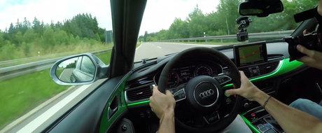 Apesi butonul magic, iar puterea maxima urca pana la 1018 CP. VIDEO cu cel mai tare Audi RS6 din toate timpurile