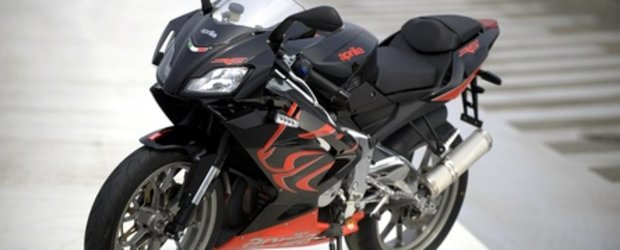 Aprilia RS125 - Prima  calatorie