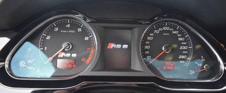 Aproape 55.5 euro per CP. Cu cat se vinde acest Audi RS6 de 810 cai putere