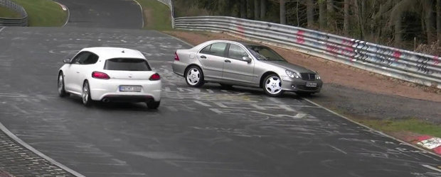 Aproape de dezastru: Cei mai norocosi soferi de la Nurburgring
