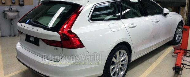 Aproape Oficial: ACESTA e noul Volvo V90!