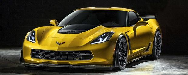 Aproape Oficial: Acesta este noul Chevrolet Corvette Z06!