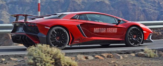 Aproape oficial: Acesta este noul Lamborghini Aventador SuperVeloce!