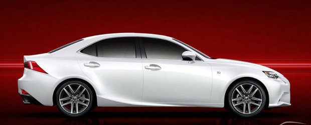 Aproape Oficial: Acesta este noul Lexus IS!