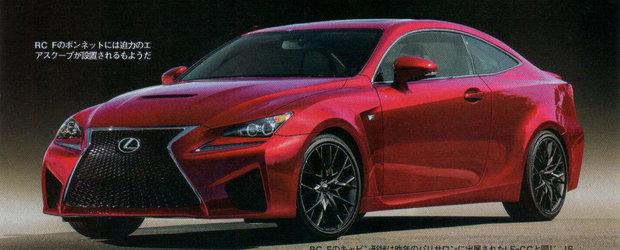 Aproape Oficial: Acesta este noul Lexus RC-F Coupe!