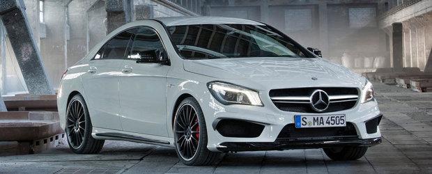 Aproape Oficial: Acesta este noul Mercedes CLA45 AMG!