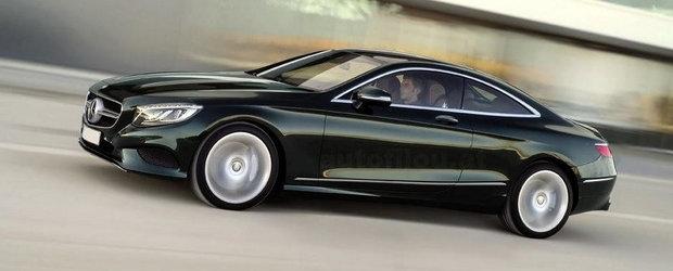 Aproape Oficial: Acesta este noul Mercedes S-Class Coupe!