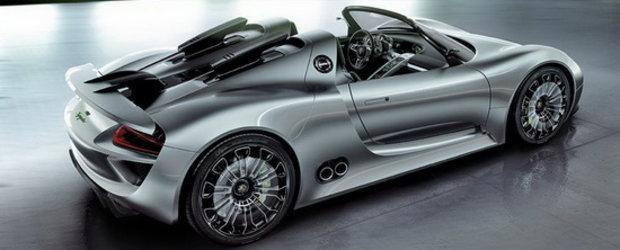 Aprobat: Magnificul Porsche 918 Spyder intra in productie!