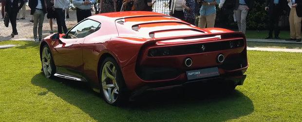 Ar fi platit 4 milioane de euro ca sa conduca asa ceva. Cum arata IN REALITATE unicul Ferrari SP38 Deborah